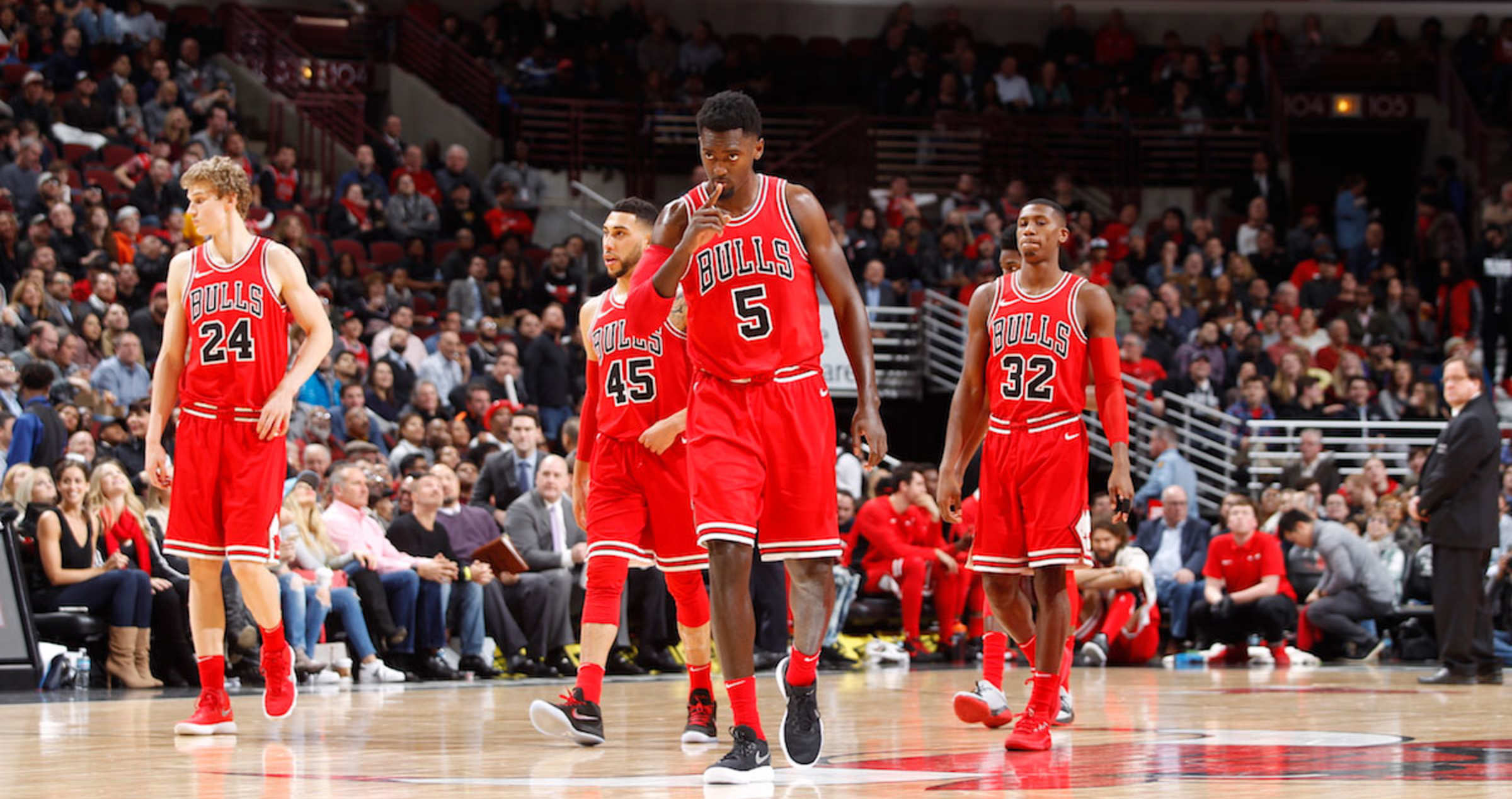 the Bulls get back on to the court