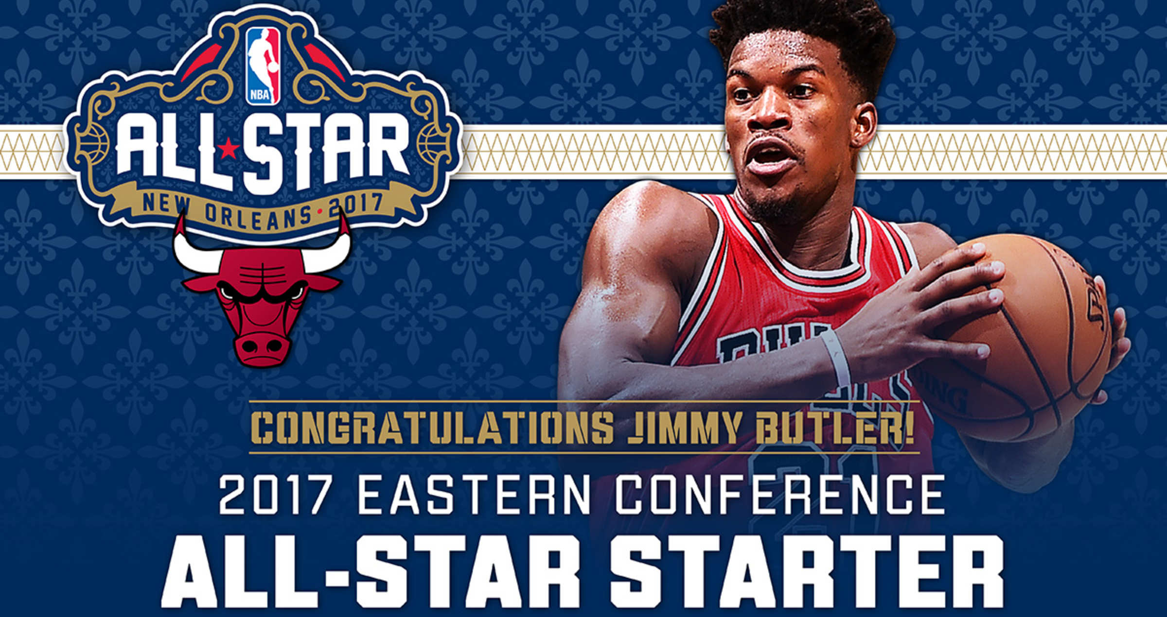 Jimmy Butler 2017 All-Star Starter
