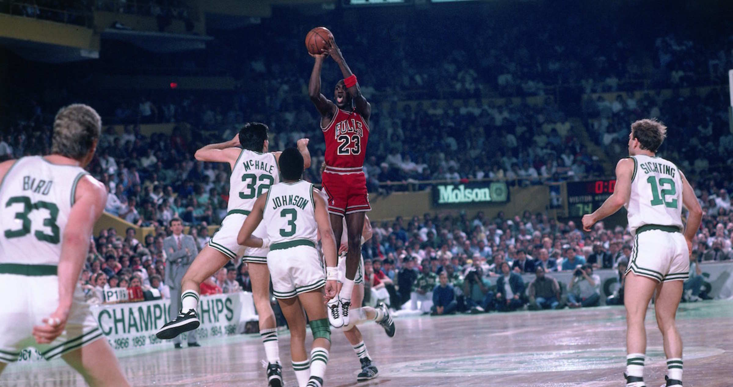 1956022f154b75 Bulls Vs. Celtics Playoff History