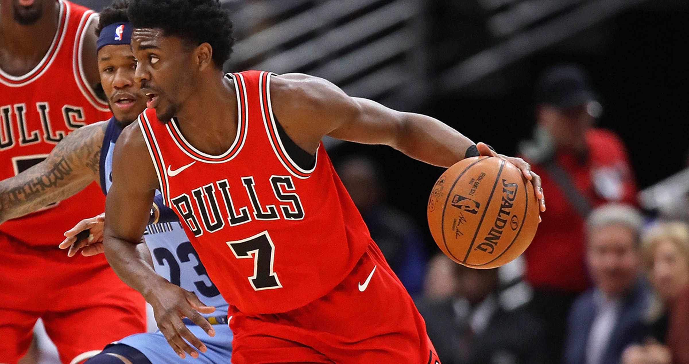 Justin Holiday shot a perfect 5-5 from the field on Wednesday night