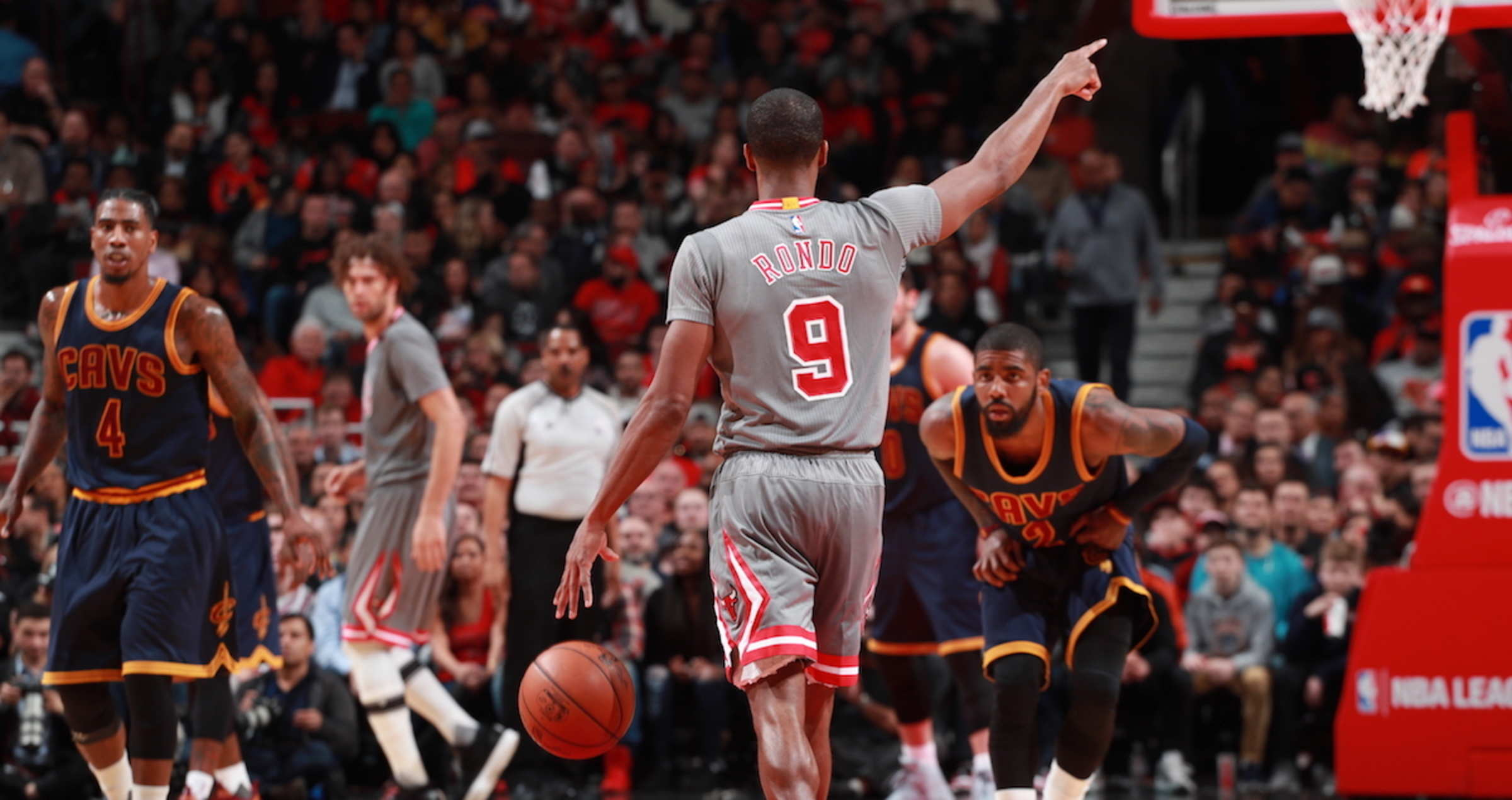 5c9a7fe2c39 Rondo Gone, But Strong Impressions Remain | Chicago Bulls