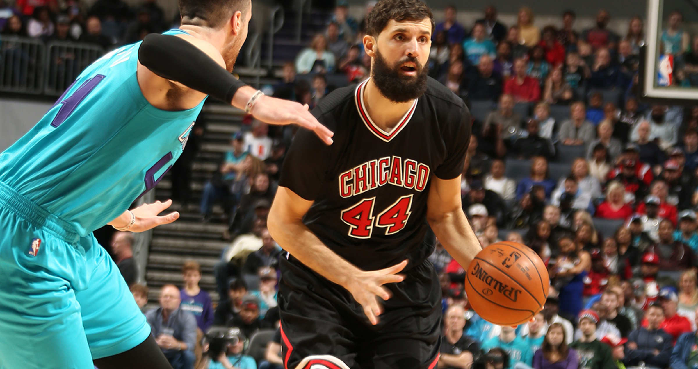 Nikola Mirotic vs. Hornets