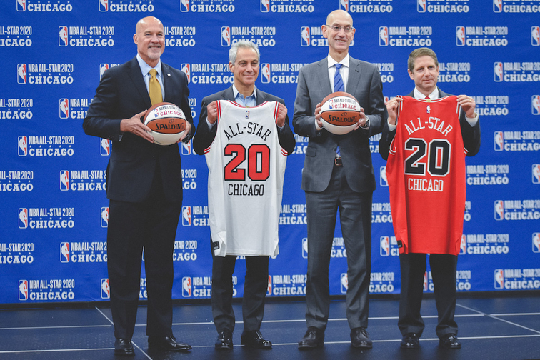NBA ANNOUNCES CHICAGO WILL HOST 2020 ALL STAR GAME