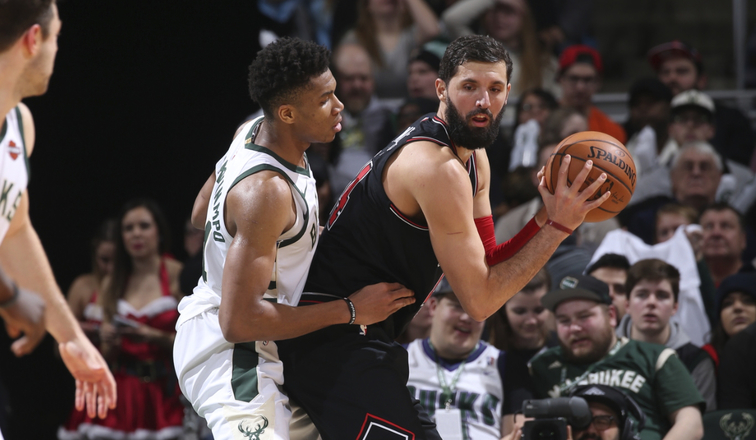 Nikola Mirotic vs. Milwaukee Bucks