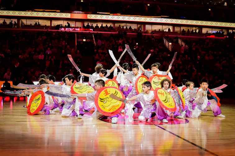 Chicago Bulls and ZTE host Chinese New Year celebration