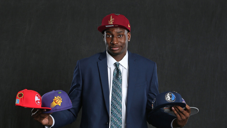 NBA Draft Prospect, Jaren Jackson Jr. poses for a portrait before the NBA Draft Lottery on May 15, 2018 at The Palmer House Hilton in Chicago, Illinois