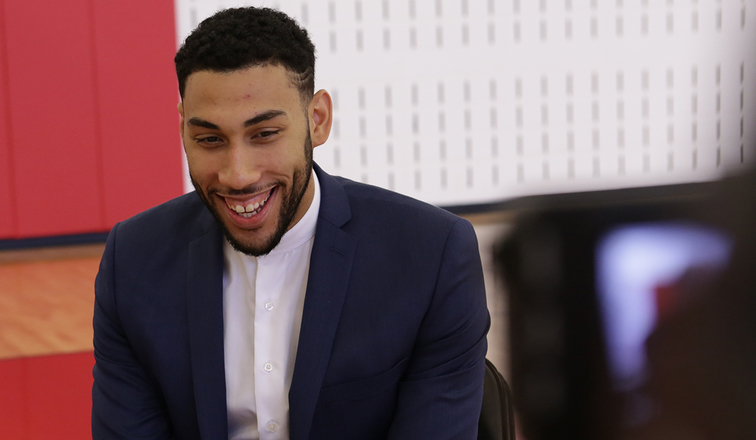0da61749c0a Bulls introduce Denzel Valentine. Valentine will wear No.