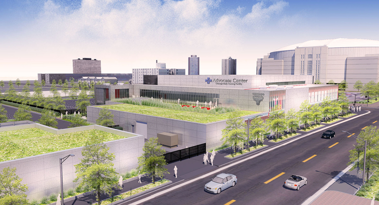 Advocate Center rendering