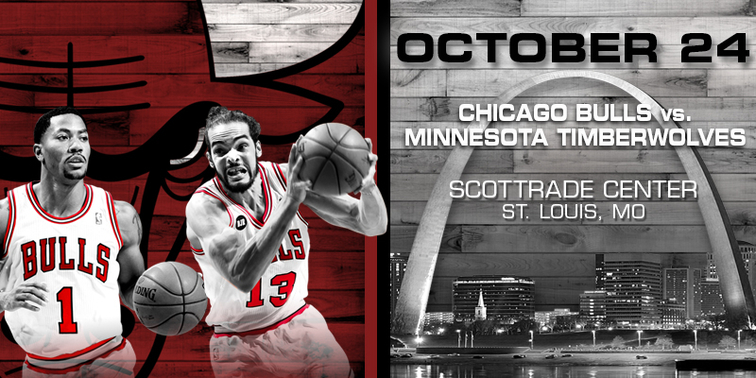 Bulls vs. Timberwolves preseason tickets on sale 8/28