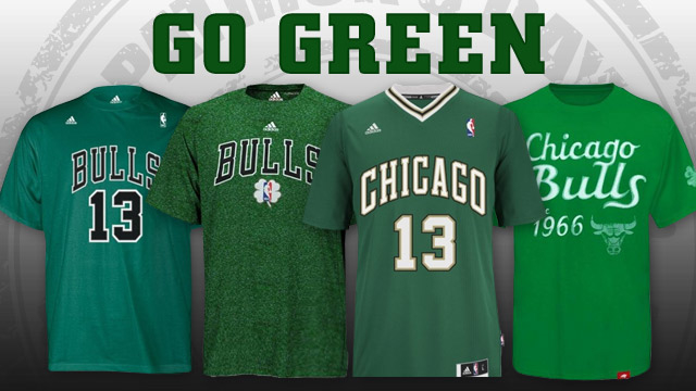 8d0c2bbf0 Bulls to celebrate St. Patrick s Day with special uniforms on March ...