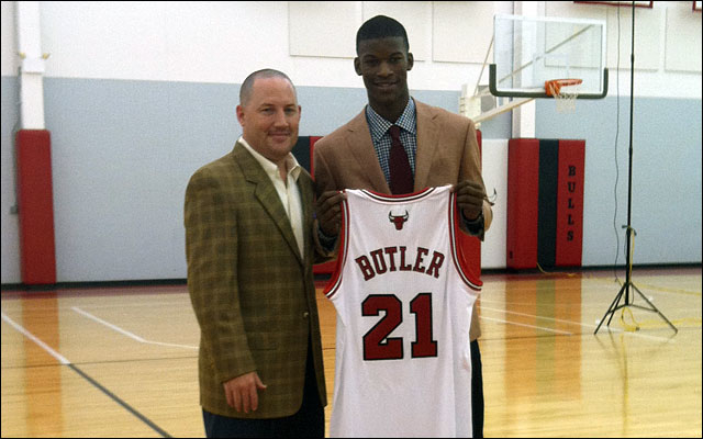 Jimmy Butler Overcame Adversity To Land With The Bulls