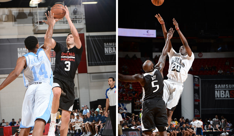Chicago's McDermott and Snell earn All-NBA Summer League First Team honors