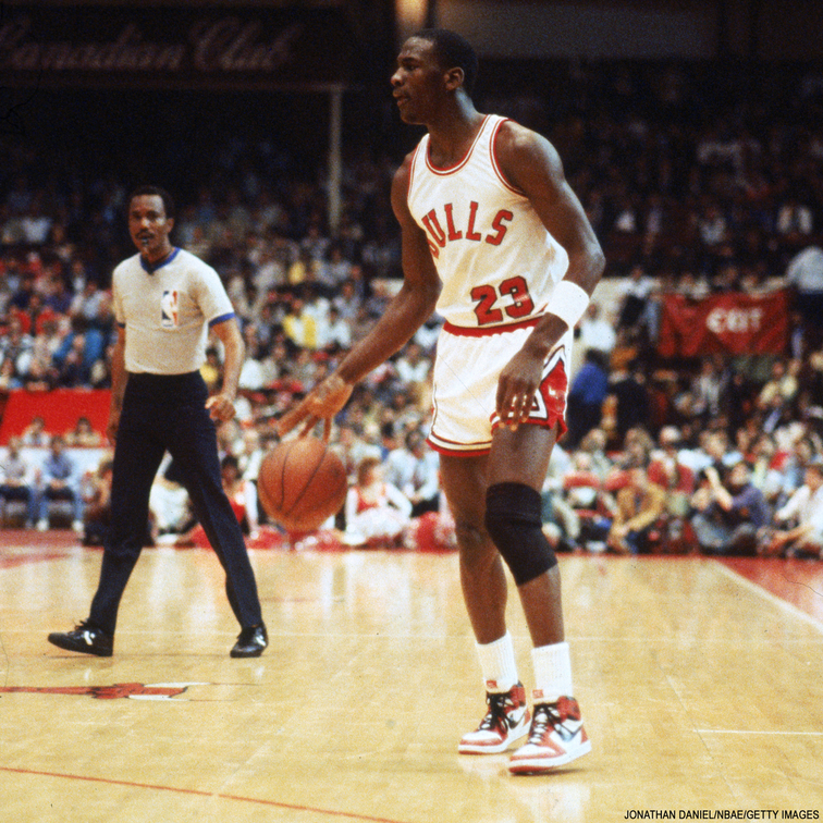 quality design ae6af e123f Michael Jordan s debut, 30 years ago