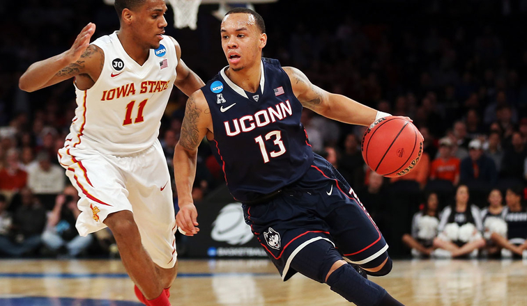 Shabazz Napier on the move against Iowa State