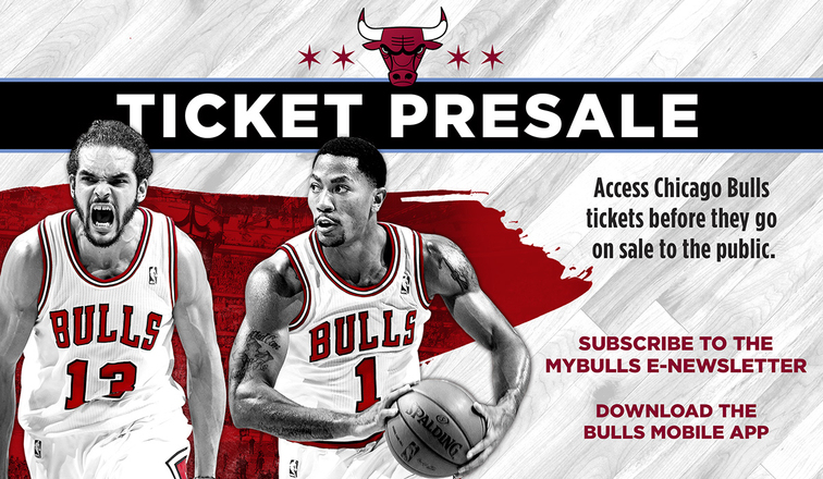 Chicago Bulls tickets on sale Fri., Sept. 26 at 11 a.m.