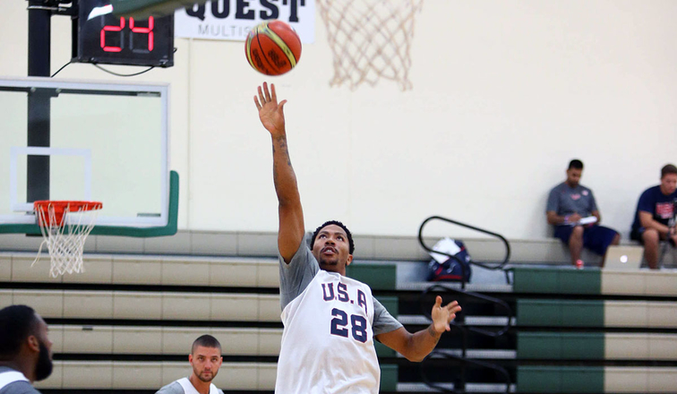 Rose looking like a leader for USA Basketball