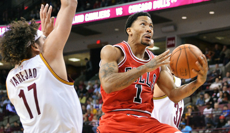 0a2f36ff8c4 Bulls fall to Cavaliers as Rose rises