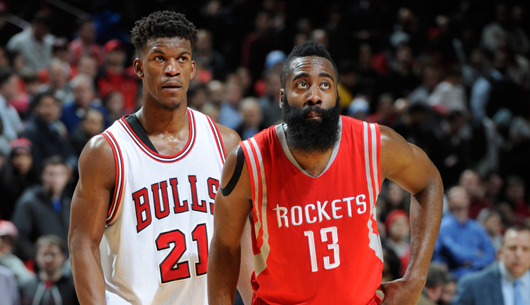 Jimmy Butler and James Harden