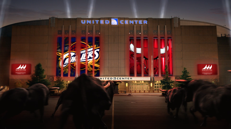 "Chicago Bulls unveil new ""Running of the Bulls"" video at 2014-15 home opener"