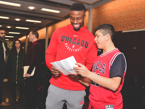 PHOTO GALLERY: BULLS, MERCY HOME AND TRANSUNION HOLD 27TH ANNUAL DRAFT NIGHT