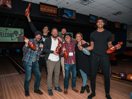 Bulls Bowling Party at Kings Chicago