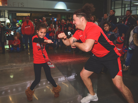 Bulls host first Kid Nation pre-game party