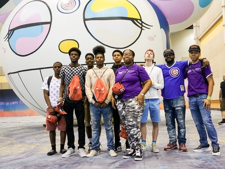 Bulls Host After School Matters Students at ComplexCon