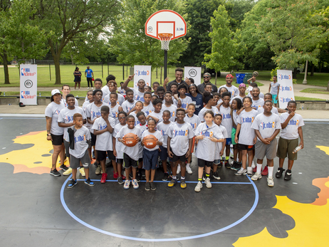 Wendell Carter Jr. Joins NBA Cares for Basketball Court Dedication