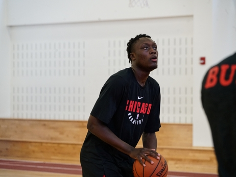 Draft Prospect Sekou Doumbouya Works Out With The Team