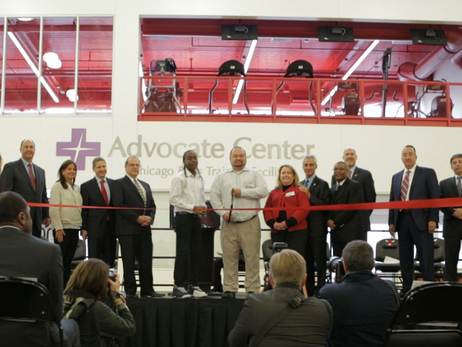 Advocate Center Ribbon Cutting Ceremony