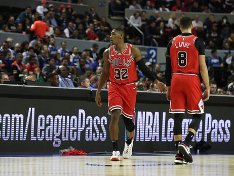 Zach LaVine out for Bulls, Kris Dunn to start
