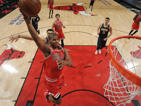 With Depleted Roster, Bulls Fall Short Against Nuggets in 135-102 Loss.