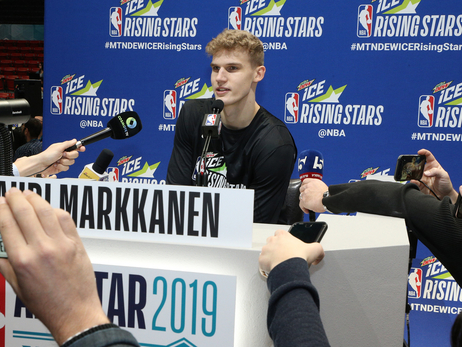 Lauri Markkanen honored and excited to be back at Rising Stars Game