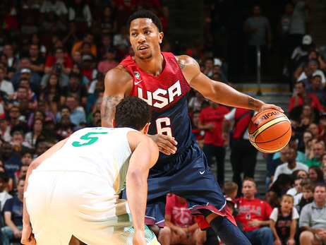 Rose, Team USA defeat Brazil 95-78