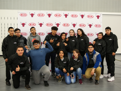 AFTER SCHOOLS MATTERS STUDENTS CELEBRATE KIA SPORTS 37 PROGRAM