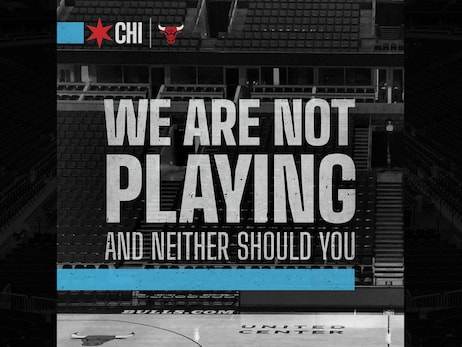 "MAYOR LIGHTFOOT TEAMS UP WITH CHICAGO'S PROFESSIONAL SPORTS TEAMS TO PRESENT THE ""WE ARE NOT PLAYING"" CAMPAIGN TO COMBAT COVID-19"