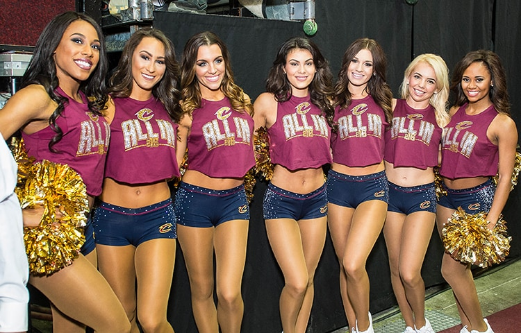 Lyft In Miami >> Playoffs Edition: Catching up with the Cavalier Girls | Cleveland Cavaliers
