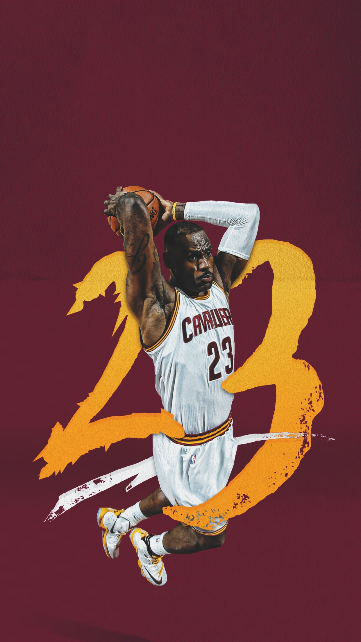 Wallpapers cleveland cavaliers - Iphone 4 basketball wallpaper ...