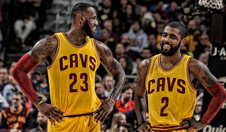 Kyrie Irving and LeBron James Named 2017 NBA All-Star Starters | Cleveland Cavaliers