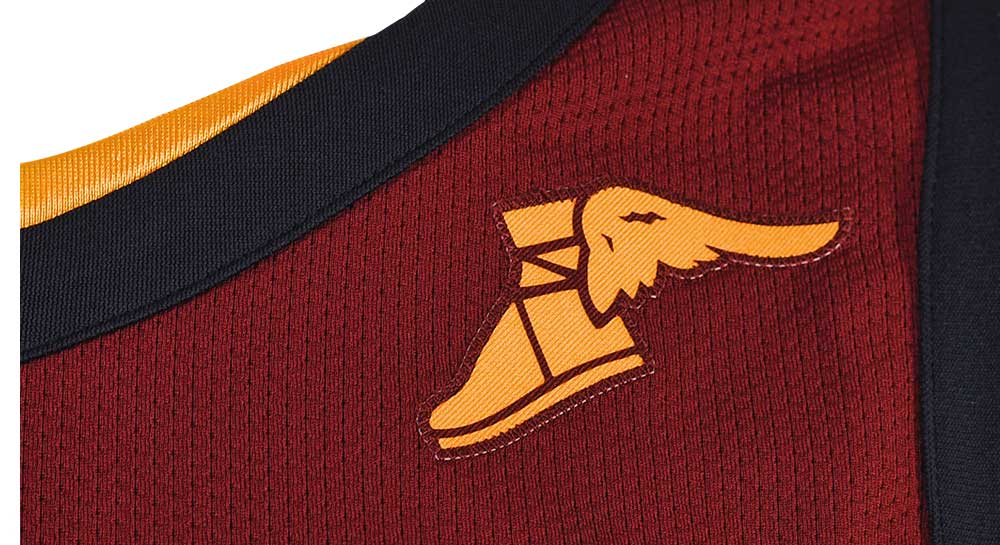 pics and details of the new cleveland cavs uniforms from nike shoe with wings logo answer is called shoe with wings logo answer is called