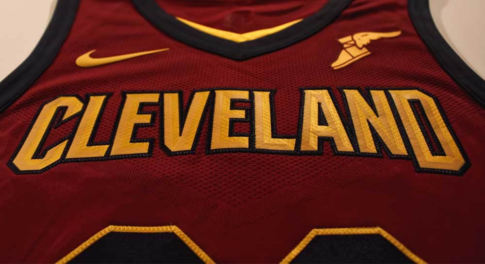 13970cbe4 Pics and details of the new Cleveland Cavs uniforms from Nike