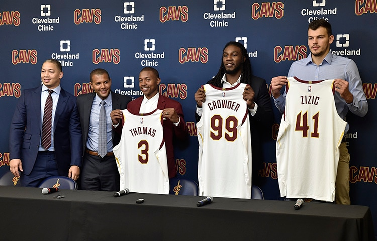 online store 062d4 557fa Cavs Welcome Thomas, Crowder and Zizic | Cleveland Cavaliers