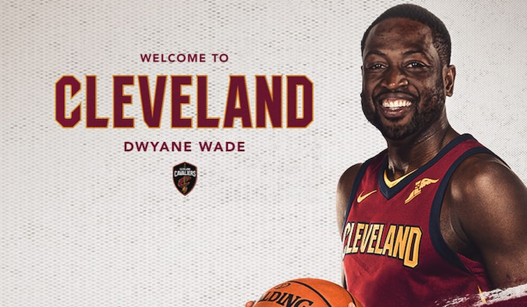 size 40 8a4ac 73ea0 Cavaliers Sign Dwyane Wade | Cleveland Cavaliers