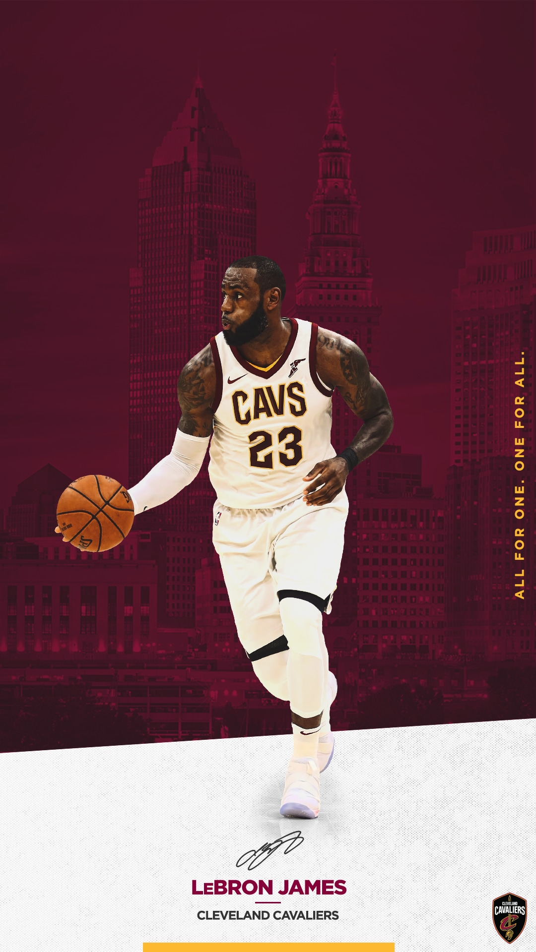 Lebron James Cleveland Cavaliers Wallpaper