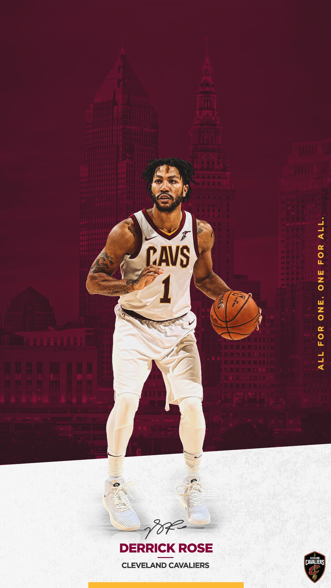 Wallpapers cleveland cavaliers - Derrick rose cavs wallpaper ...