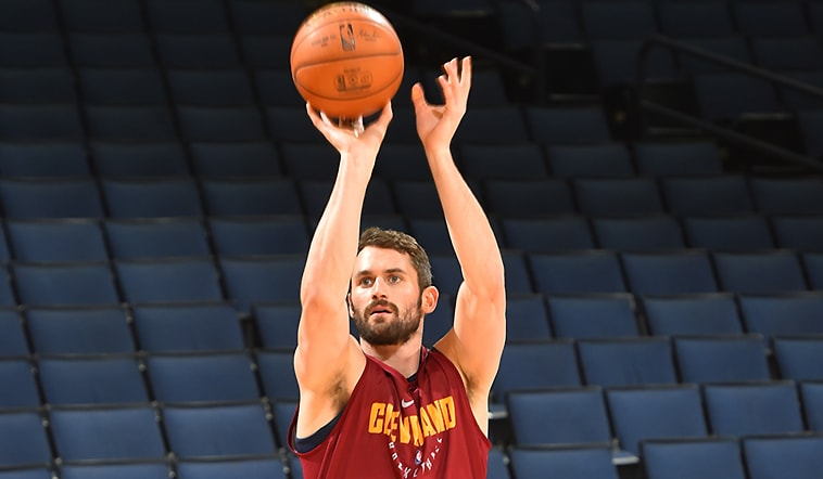 Kevin Love to Play in Game 1 | Cleveland Cavaliers