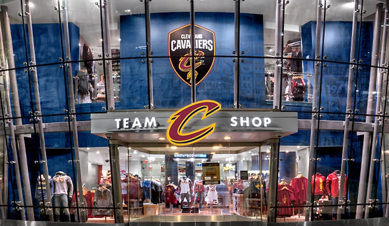 new product 36aa5 40583 Cavaliers Team Shop at The Q to Temporarily Close ...