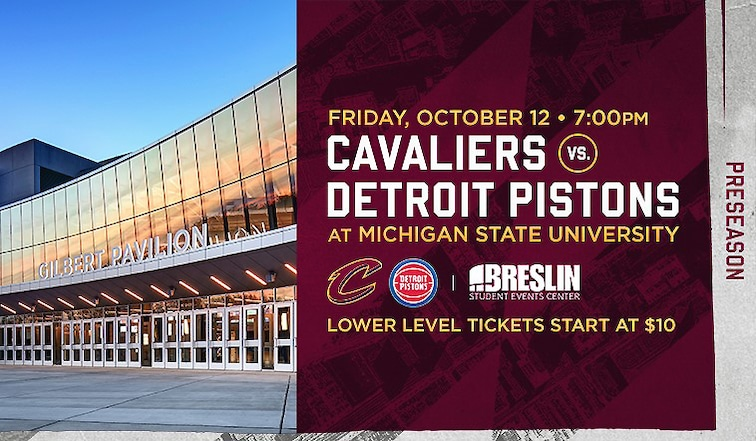 Cavs vs. Pistons Preseason Game
