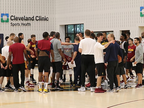View Cavs Current Roster