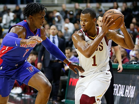 Pistons Pull Away in Preseason Finale